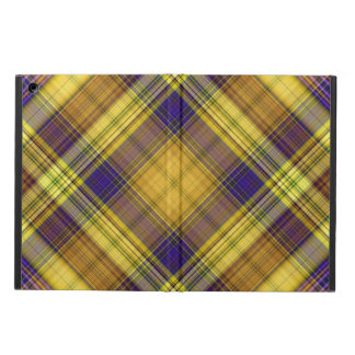 Colorful Madras Plaid iPad Air Case