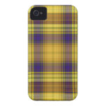 Colorful Madras Plaid iPhone 4 Case