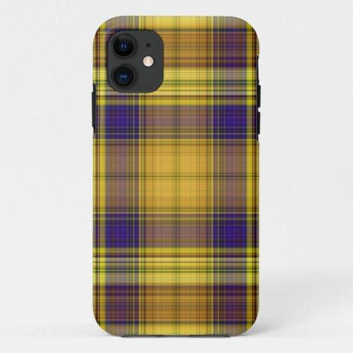 Colorful Madras Plaid iPhone 5 Case Phone Case
