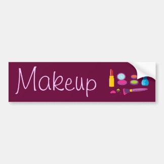 Colorful Makeup Bumper Sticker