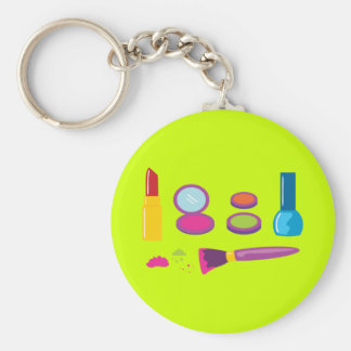 Colorful Makeup Keychain