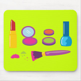 Colorful Makeup Mouse Pad
