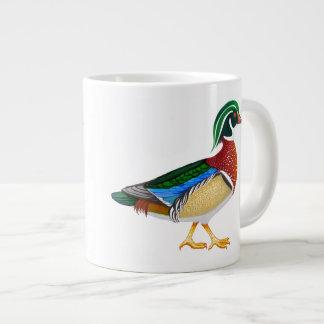 Colorful Male Wood Duck Jumbo Mug
