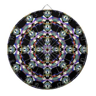 Colorful Mandala Abstract Dartboards