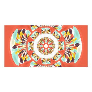 Colorful mandala card