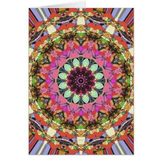 Colorful Mandala Design Card