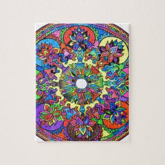 Colorful Mandala Jigsaw Puzzle