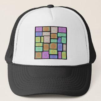 Colorful Mandala Mosiac Trucker Hat