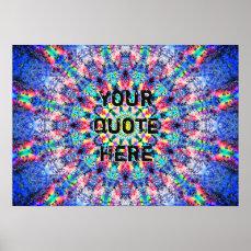 Colorful Mandala Poster