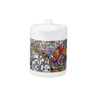 Colorful Mandala Teapot