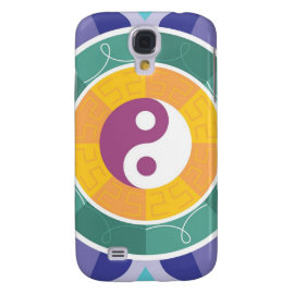 Colorful Mandala Ying Yang Designs Gifts HTC Vivid Case