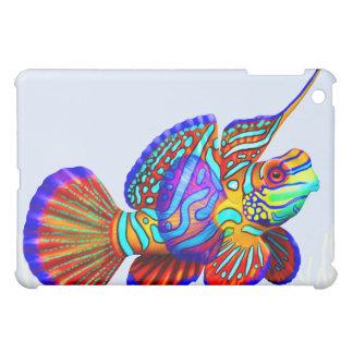 Colorful Mandarin Fish iPad Case