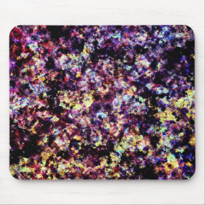 Colorful Marble Flakes Pattern Mouse Pad