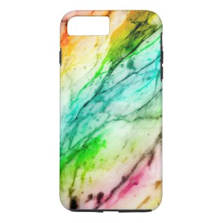 Colorful Marble Pattern iPhone 7 Plus Case