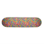 COLORFUL MARBLE SKATEBOARD