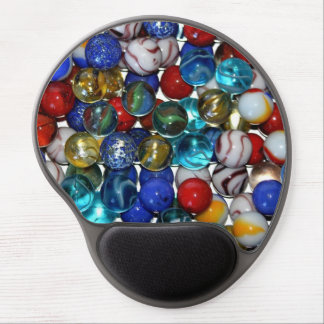 Colorful Marbles Gel Mousepad