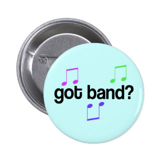 Colorful Marching Band Button