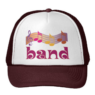 Colorful Marching Band Hat