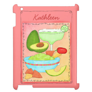 Colorful Margarita Guacamole Fun Celebrate iPad Cases