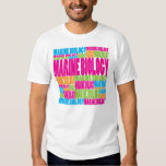 Colorful Marine Biology T-shirt
