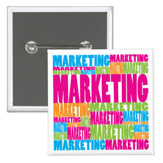 Colorful Marketing Pinback Button