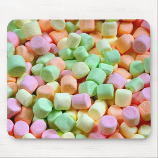 Colorful marshmallows mouse pad