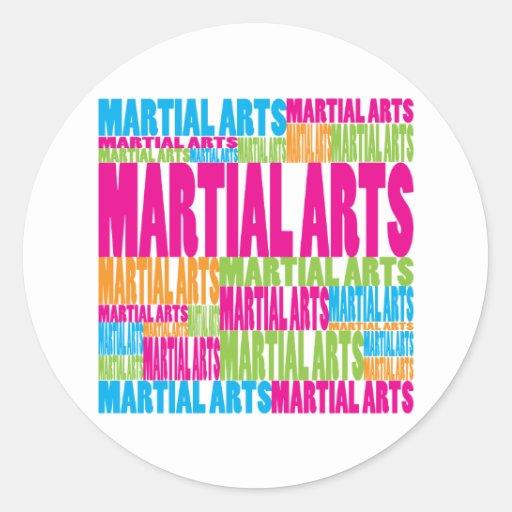 Colorful Martial Arts Sticker