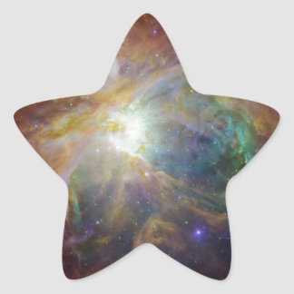 Colorful Masterpiece Star-Shaped Stickers