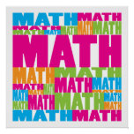 Colorful Math Posters