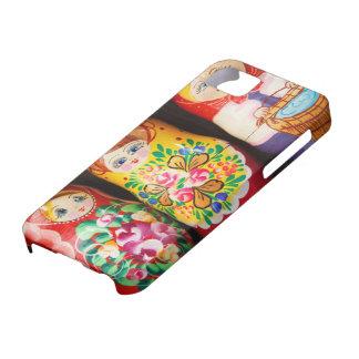 Colorful Matryoshka Dolls iPhone SE/5/5s Case