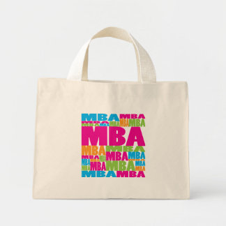 Colorful MBA Canvas Bag
