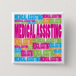 Colorful Medical Assisting Button