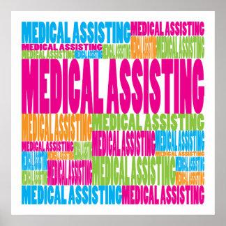 Colorful Medical Assisting Poster