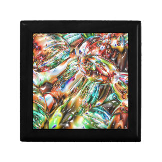 Colorful Melted Glass Gift Box