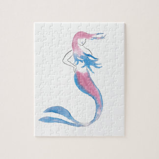 Colorful Mermaid Jigsaw Puzzle