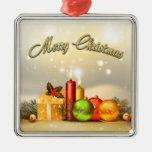 Colorful Merry Christmas Candle Decorations Christmas Tree Ornaments