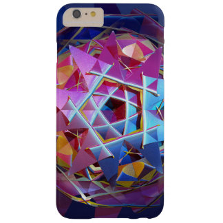 Colorful metallic orb barely there iPhone 6 plus case