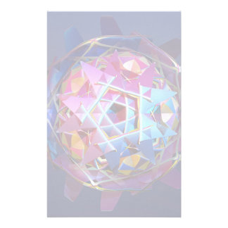 Colorful metallic orb stationery