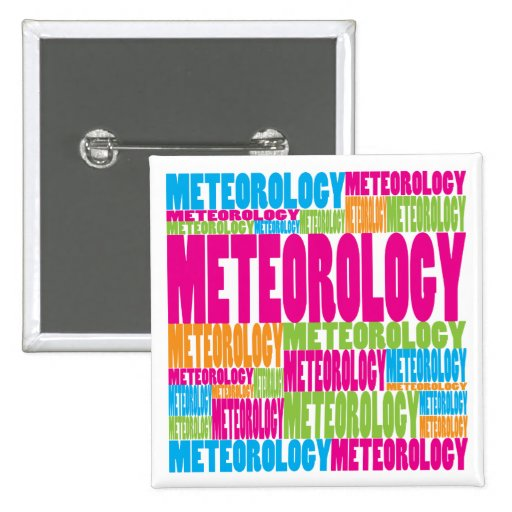 Colorful Meteorology Button