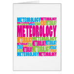 Colorful Meteorology Card