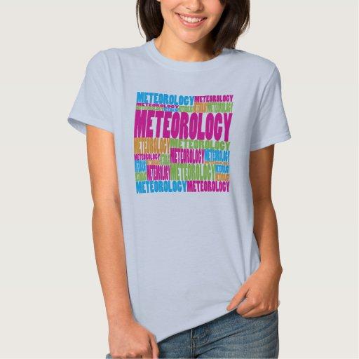 Colorful Meteorology T Shirt