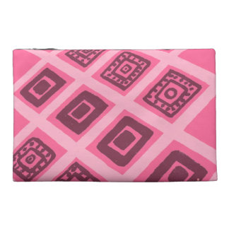 Colorful Mexican Geometric Pattern Travel Accessory Bags