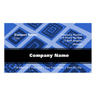 Colorful Mexican Geometric Pattern Double-Sided Standard Business Cards (Pack Of 100)