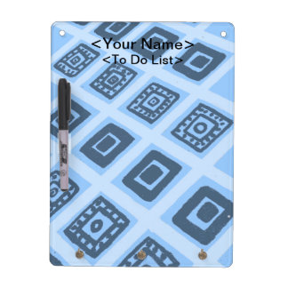 Colorful Mexican Geometric Pattern Dry-Erase Board