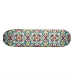 Colorful Mexican Pattern Skate Boards