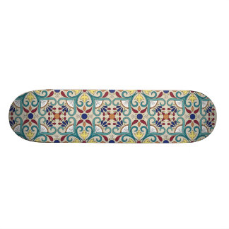 Colorful Mexican Pattern Skateboard Deck