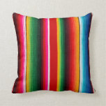 colorful mexican style throw pillows