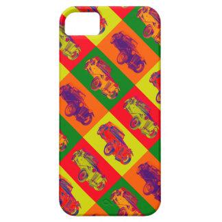 Colorful Mg Tc Antique Car Pop Art iPhone SE/5/5s Case