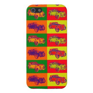 Colorful Mg Tc Antique Car Pop Art iPhone SE/5/5s Cover