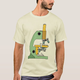COLORFUL MICROSCOPE ILLUSTRATION T-Shirt